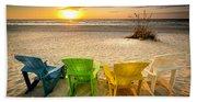 Come Relax Enjoy Beach Sheet
