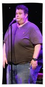 Comedian Ralphie May Beach Towel