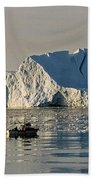 Coming Home - Greenland Beach Towel