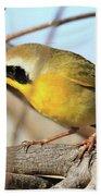 Common Yellowthroat #2 Beach Towel