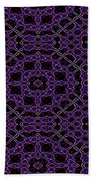 Community Garden Two Abstract Beach Towel