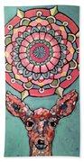Compassion Orb Beach Towel