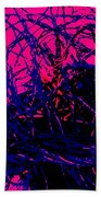 Complex Abstract Beach Towel