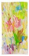 Composition Spring Beach Towel