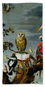 Concert Of Birds Beach Towel