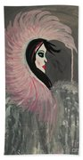 Concrete Angel Beach Towel