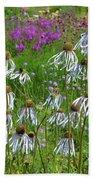 Cone Flower Fairy Dance Beach Sheet