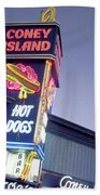 Coney Island Hot Dog Sign Photograph By Bill Dussault