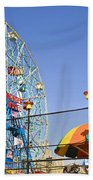 Coney Island Memories 6 Beach Towel