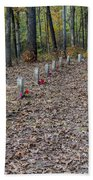 13 Unknown Confederate Soldiers - Natchez Trace Beach Towel