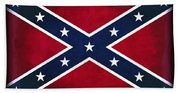 Confederate Rebel Battle Flag Beach Towel