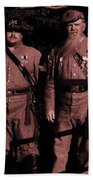 Confederate Tintype Civil War Beach Towel