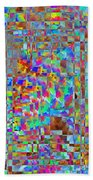 Confetti Cloud Beach Towel