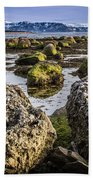 Conglomerate Boulders, Green Point, Nl Beach Towel