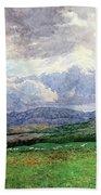 Connemara Mountains Beach Towel