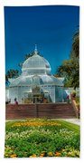 Conservatory Of Flowers - San Francisco Beach Towel