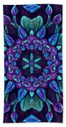 Consider The Lilies  Beach Towel