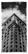 Consolidated Edison Building Beach Towel