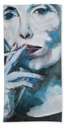 Constant In The Darkness Beach Towel