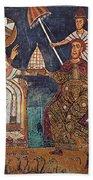 Constantine I (c280-337) Beach Towel