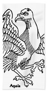 Constellation: Aquila Beach Towel