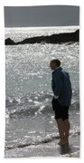 Contemplation Beach Towel