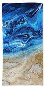 Contemporary Abstract Beach Nacl Beach Towel