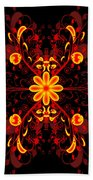 Continental Abstract Beach Towel