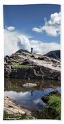 Continental Divide Above Twin Lakes 2 - Weminuche Wilderness Beach Towel