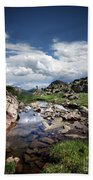Continental Divide Above Twin Lakes 3 - Weminuche Wilderness Beach Towel