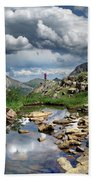 Continental Divide Above Twin Lakes 4 - Weminuche Wilderness Beach Towel