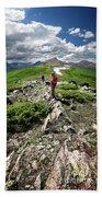Continental Divide Above Twin Lakes 7 - Weminuche Wilderness Beach Sheet