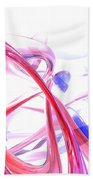 Contortion Abstract Beach Towel