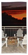 Conversations Coming Beach Towel