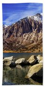 Convict Lake Beach Towel
