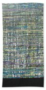 Convoluted Beach Towel by Jacqueline Athmann