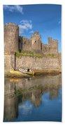 Conwy Castle Beach Towel
