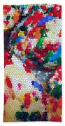 Cookies Mosaic Beach Towel