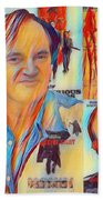 Cool Tarantino Beach Towel