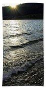 Cool Waters Sunset Beach Towel
