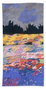 cooney sunset I Beach Towel