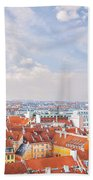 Copenhagen City Denmark Beach Towel