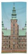 Copenhagen Rosenborg Castle Back Facade Beach Towel