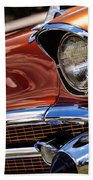 Copper 1957 Chevy Bel Air Beach Towel
