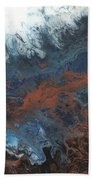 Copper Abstract 2 Beach Towel