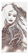 Copper Blonde Beach Towel