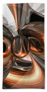 Copper Dreams Abstract Beach Towel