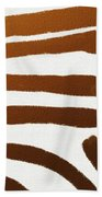 Copper Lines Beach Towel