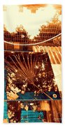 Copper Reflections Beach Towel