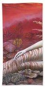 Coral 8thin The Vintage Mermaids Series Beach Sheet